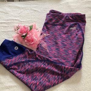 Avia Purple and Pink Workout Pants Size XL
